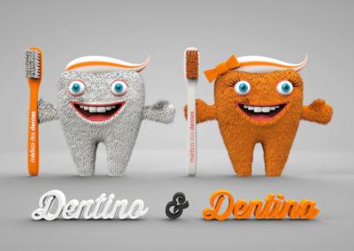 Médico dos Dentes – Mascote