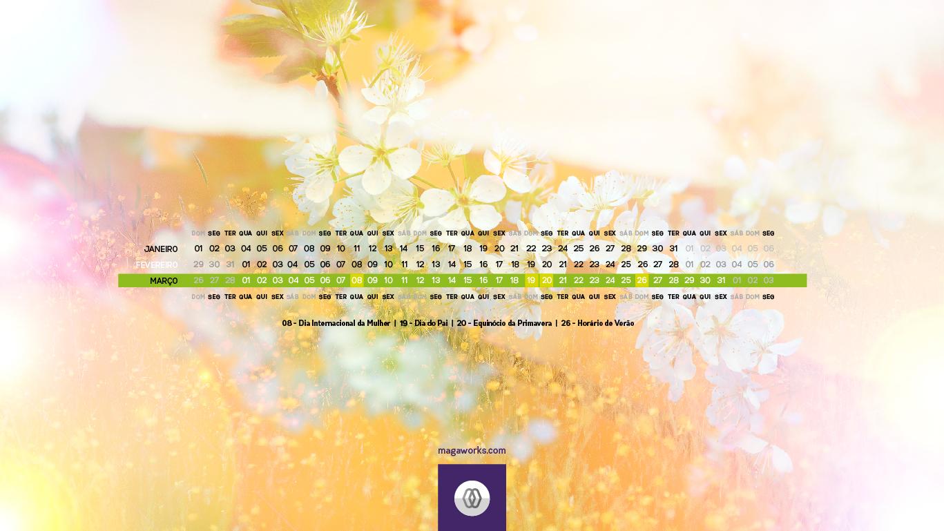 Desktop Março - 1366x768