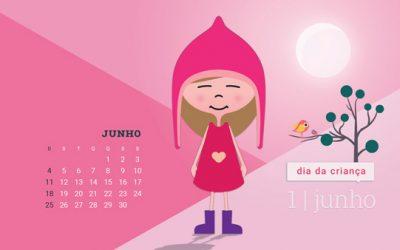 Desktop do Dia da Criança para Junho