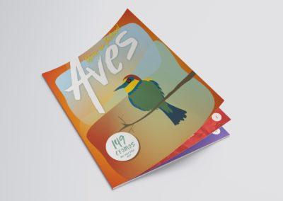 Caderneta de Cromos Aves