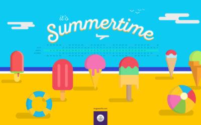 Desktop de férias de Verão 2017