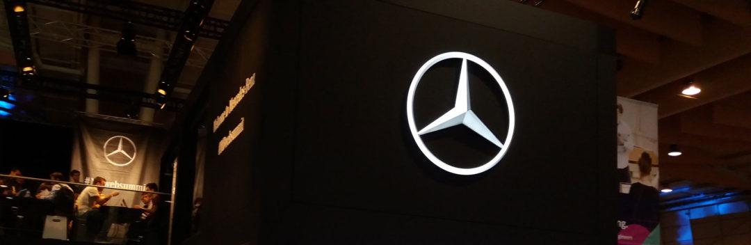 Stand Mercedes no Websummit 2017