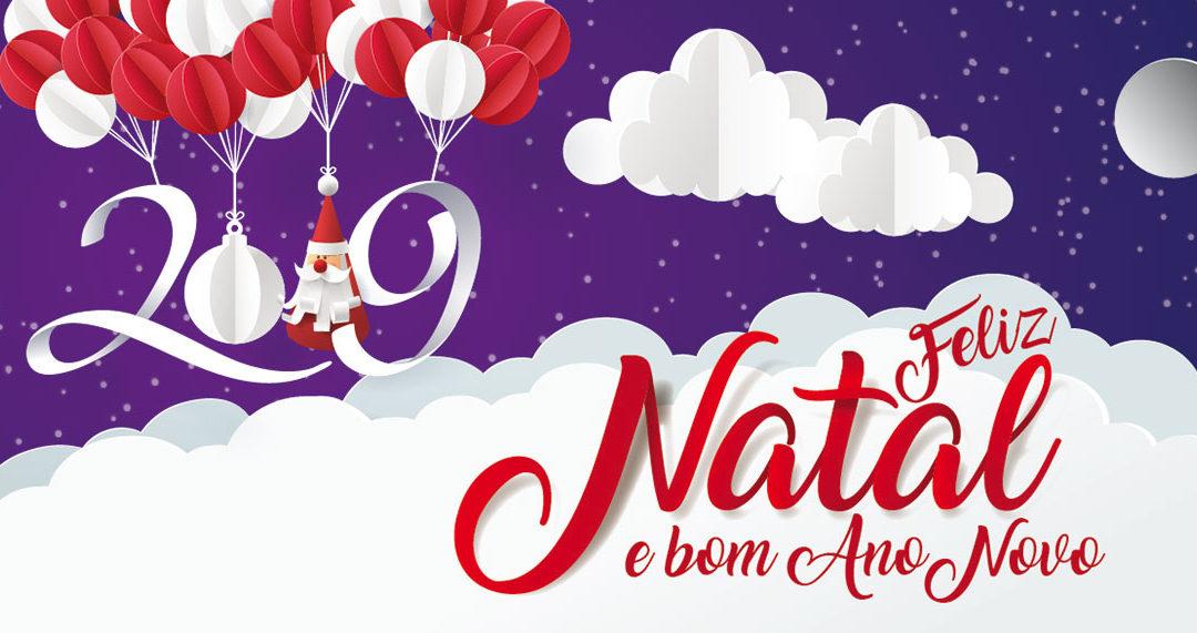 Desejos de Boas Festas 2018/2019