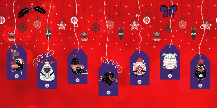 Etiquetas de Natal by MAGAWORKS