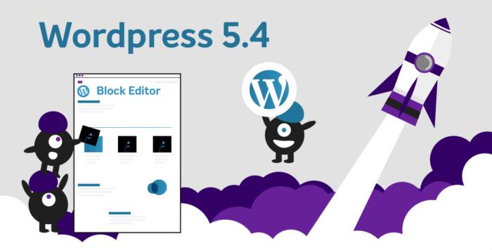 Novo WordPress 5.4 - Novidades e melhorias