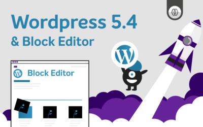 Novo WordPress 5.4 – Novidades e melhorias no Block Editor