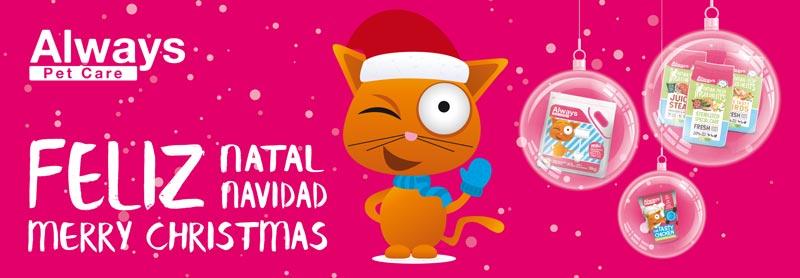Anúncio de Natal Always PetCare by MAGAWORKS