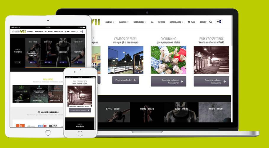 Website Clube VII