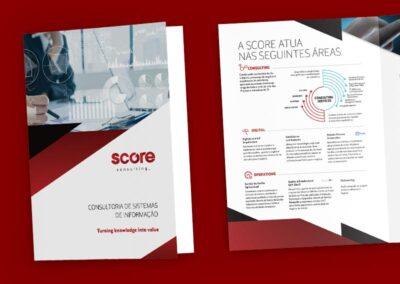 Folheto institucional de serviços, Score Consulting
