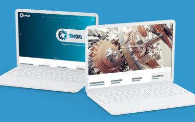 Website, Catálogo de produtos online – TM2A