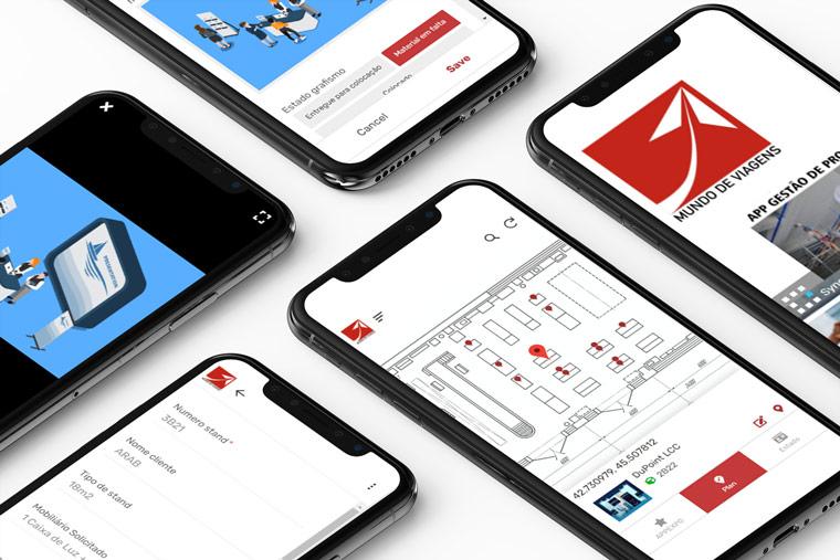 Aplicação mobile para gerir os seus processos de entregas.