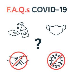 Questões sobre comunicação COVID-19