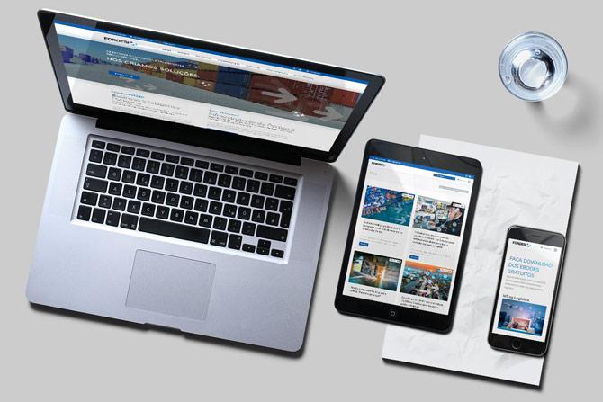 Website responsive em WordPress - Fordesi