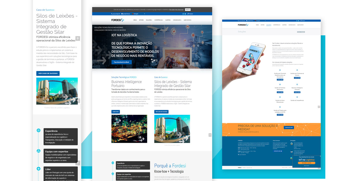 Website Screens