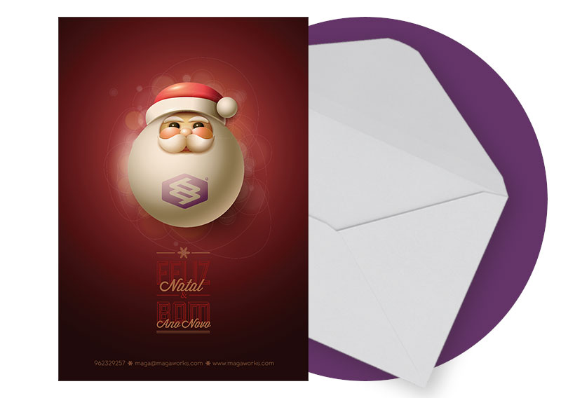 Postal de Natal MAGAWORKS 2015