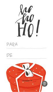 Etiquetas de Natal, oferta MAGAWORKS - Vertical