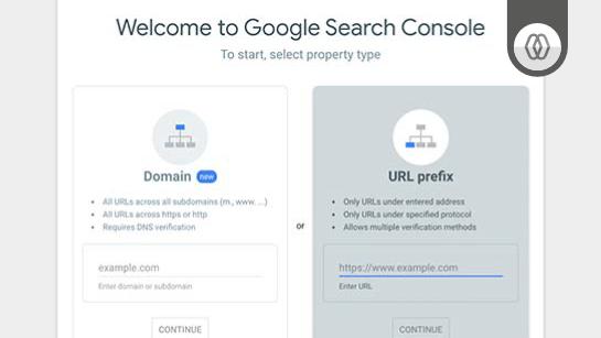 Registar domínio no google Search Console