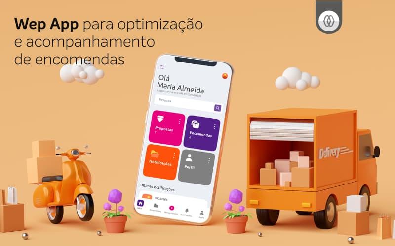 Web App para gestão de encomendas