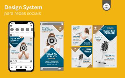 Design system para redes sociais