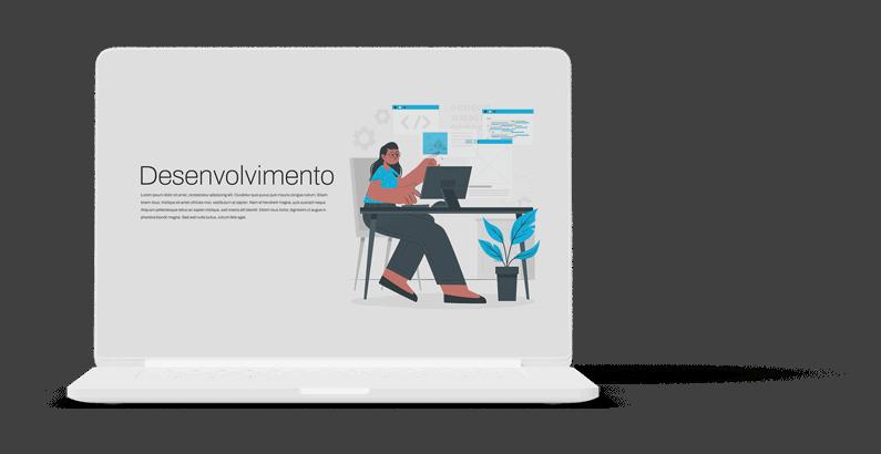 Website profissional - Design e Desenvolvimento à medida