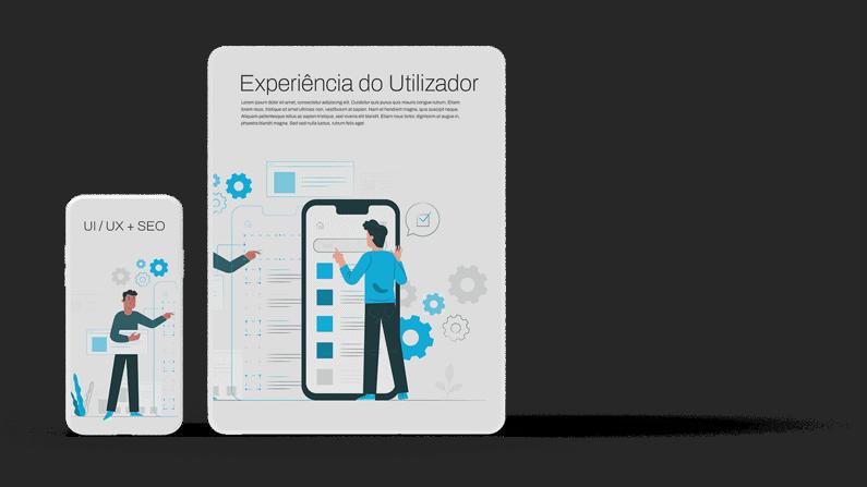 Website à medida - Optimização UI/UX